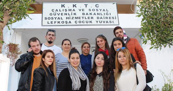 EMU Communication Faculty Visited Çağlayan Orphanage