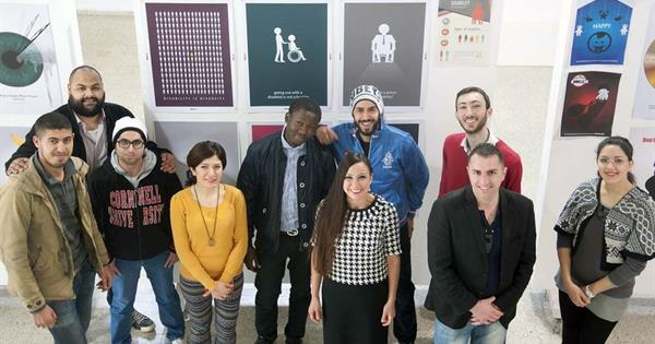 "EMU Organised an Exhibition on ""Design in Fighting Crimes"""