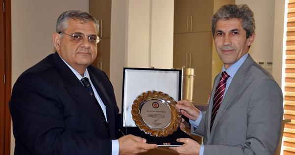 Eastern Mediterranean University Expresses Gratitude to Prof. Dr. Süleyman İrvan