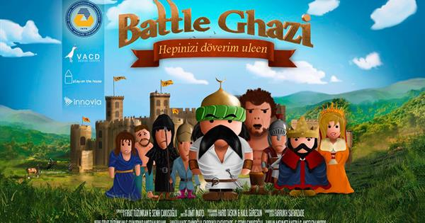 "North Cyprus' First Computer Game ""Battle Ghazi"""